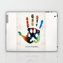 Rainbow Bridge Art - Never Forgotten - By Sharon Cummings Laptop & iPad Skin