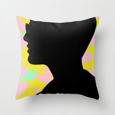 I'm the fury in your head Throw Pillow