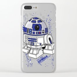 AstroMech Are2Dee2 Clear iPhone Case