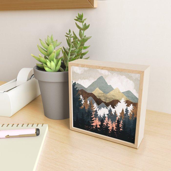 Forest View Framed Mini Art Print