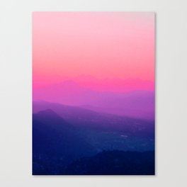Como Sunset Canvas Print