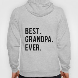 GRANDPA GIFT Typography Print Birthday Gift Best Grandpa Inspirational Quote Wall Art PRINTABLE Hoody