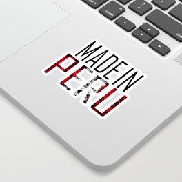 Made In Peru Sticker