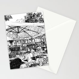 The waiting Stationery Cards