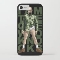 walter white iPhone & iPod Cases featuring Walter White by Denis O'Sullivan