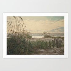 Summer is almost over..... Art Print