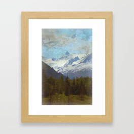 Distressed Framed Art Print