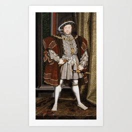 Henry VIII of England Art Print