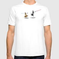 The Cone Wars SMALL White Mens Fitted Tee
