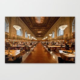 New York Public Library Canvas Print