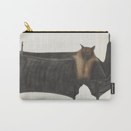 Vintage Indian Fruit Bat Illustration (1782) Carry-All Pouch