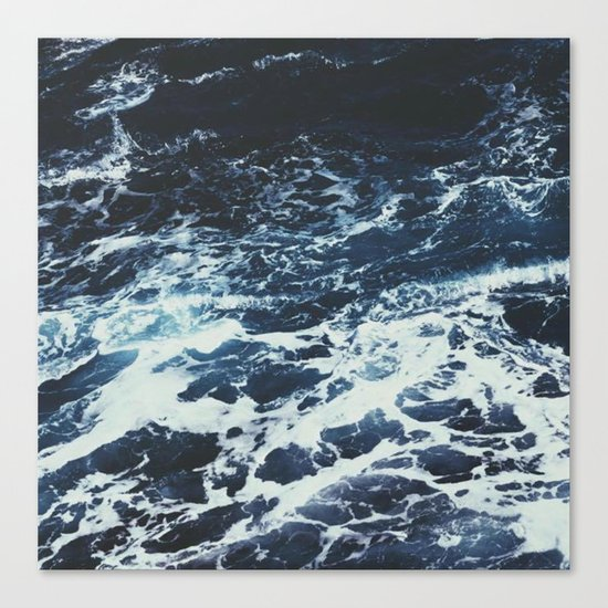 Dark Ocean Canvas Print