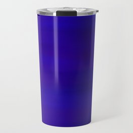 Ultra Violet to Indigo Blue Ombre Travel Mug
