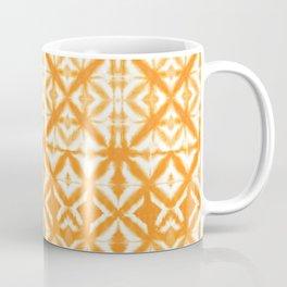 Breeze Block Shibori Tangerine Coffee Mug