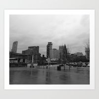 liverpool Art Prints featuring Liverpool by Peter Dunne