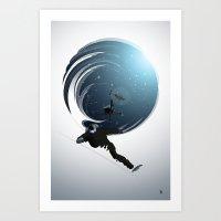 Heli Riders Art Print