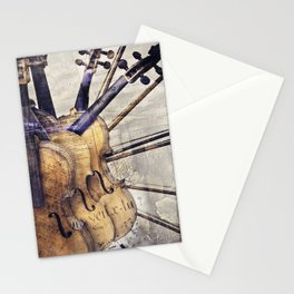 Classic Violins Stationery Cards