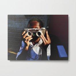 Capture the Moment  Metal Print
