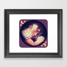 Le Luna Framed Art Print