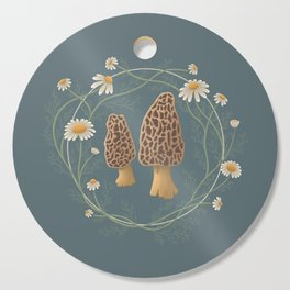 Morels & Chamomiles Cutting Board