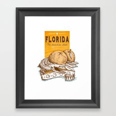 Florida 2 Framed Art Print