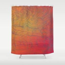Auric Waves Shower Curtain