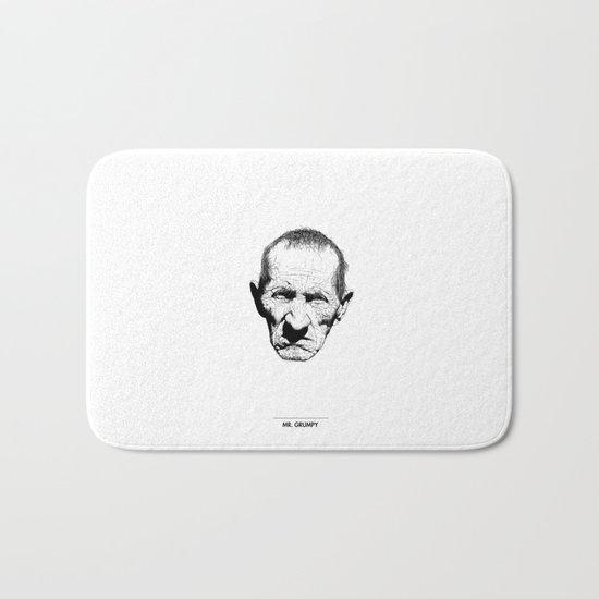 Mr. Grumpy Bath Mat