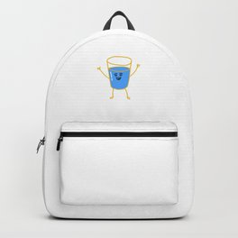 H2O Stay Hydrated design Gift Backpack