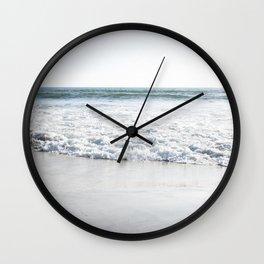 Coastal Blue Wall Clock
