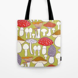 All my mushrooms Tote Bag