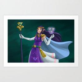 Princess Hilda Art Print