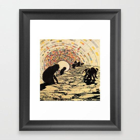 Monkey Puzzle Framed Art Print