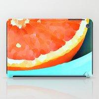 aelwen iPad Cases featuring Grapefast by Xchange Art Studio