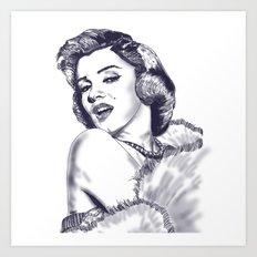 Legendary Beauty Art Print