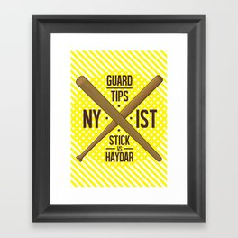 Self Guard Framed Art Print