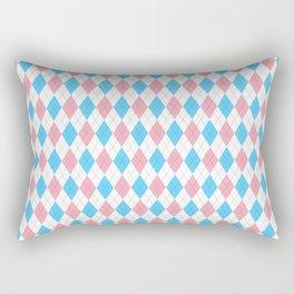 Transgender Argyle Rectangular Pillow