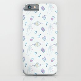 Magical light pattern iPhone Case