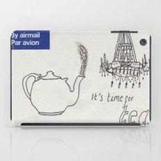 A Parisian, British Tea iPad Case