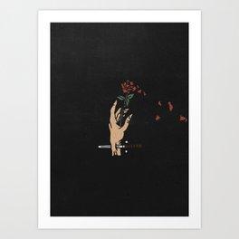 Rose - II Art Print