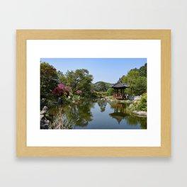The Garden of the Morning Calm, Korea Framed Art Print