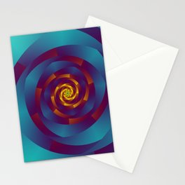 geometric design -505- Stationery Cards