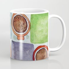 Watercolor Coffee Tile Coffee Mug