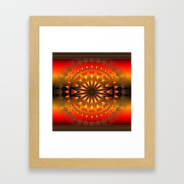 Fire Spirit Framed Art Print