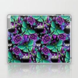 Luna Moth Pattern Laptop & iPad Skin
