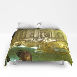 Trevi Fountain Comforters
