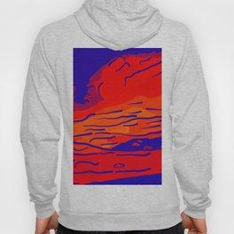 abstract style aurora borealis absbry Hoody