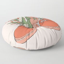 Spring In Your Step Floor Pillow