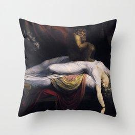John Henry Fusel - The Nightmare Throw Pillow