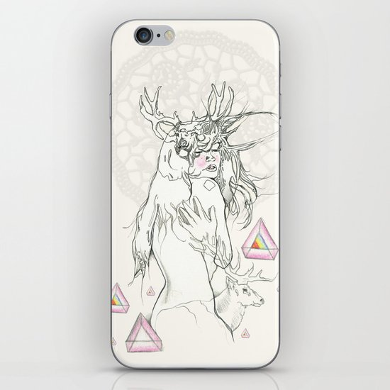 ° The cream doily ° iPhone Skin