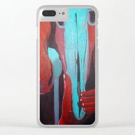 Broken Dream Clear iPhone Case